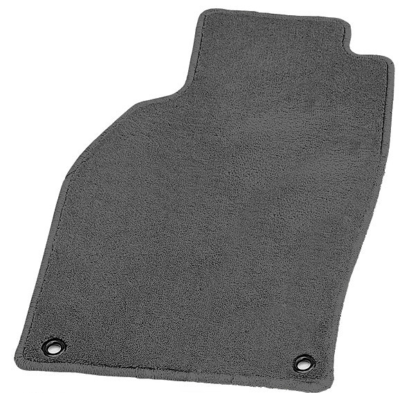 Black Coverking Custom Fit Front Floor Mats for Select Plymouth Conquest Models Nylon Carpet