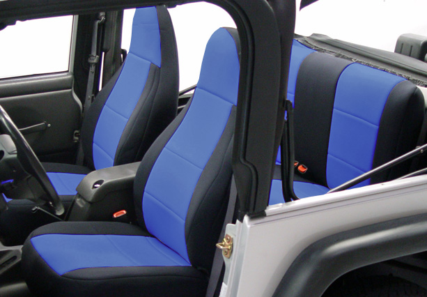 Coverking neoprene jeep seat covers free shipping for Garage seat nevers