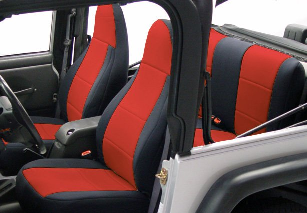Coverking Seat Covers >> Coverking Neoprene Jeep Seat Covers - Free Shipping