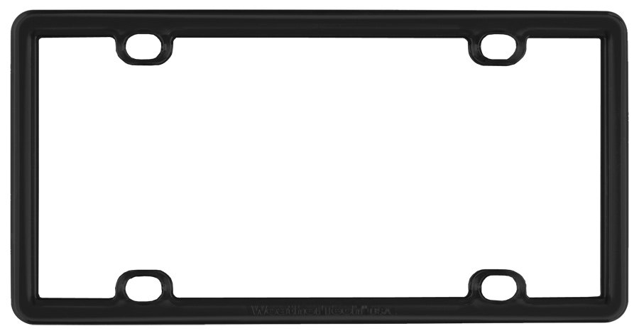 WeatherTech ClearFrame License Plate Frames, License Plate Frame