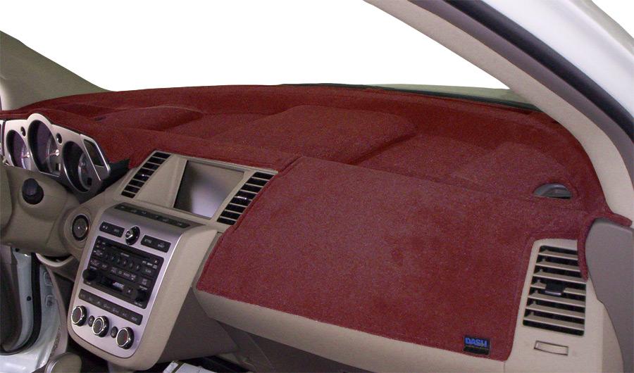 Covercraft DashMat VelourMat Dashboard Cover for Plush Velour, Red