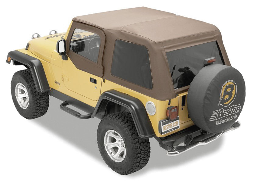2007 2018 Jeep Wrangler Bestop Trektop Nx Soft Top Bestop 56823 35