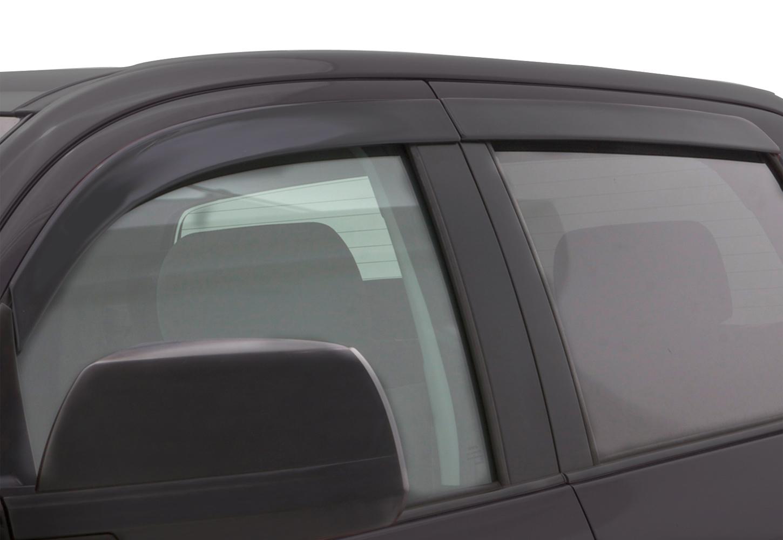 Rain Guards For Trucks >> Avs Color Match Low Profile Window Deflectors
