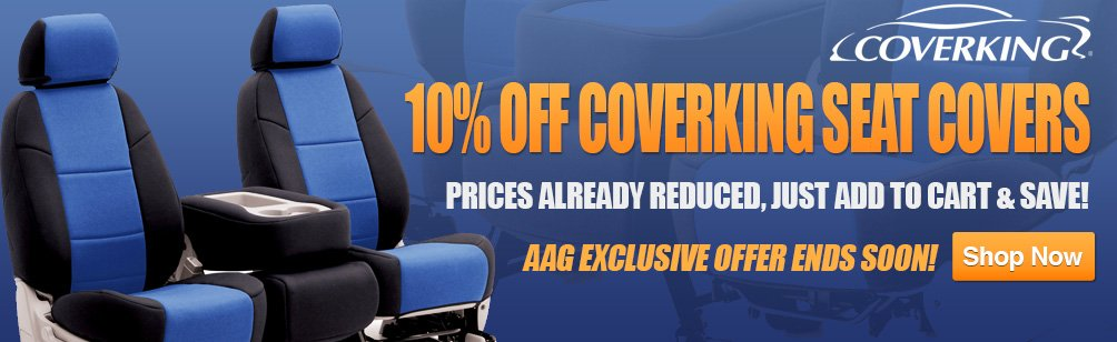 10% Off Coverking Seat Covers