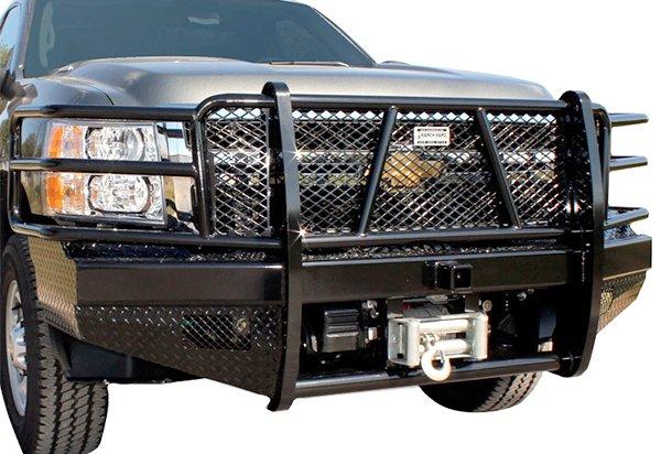 Top 10 Best Aftermarket Truck Bumpers in the World (Heavy-Duty Winch