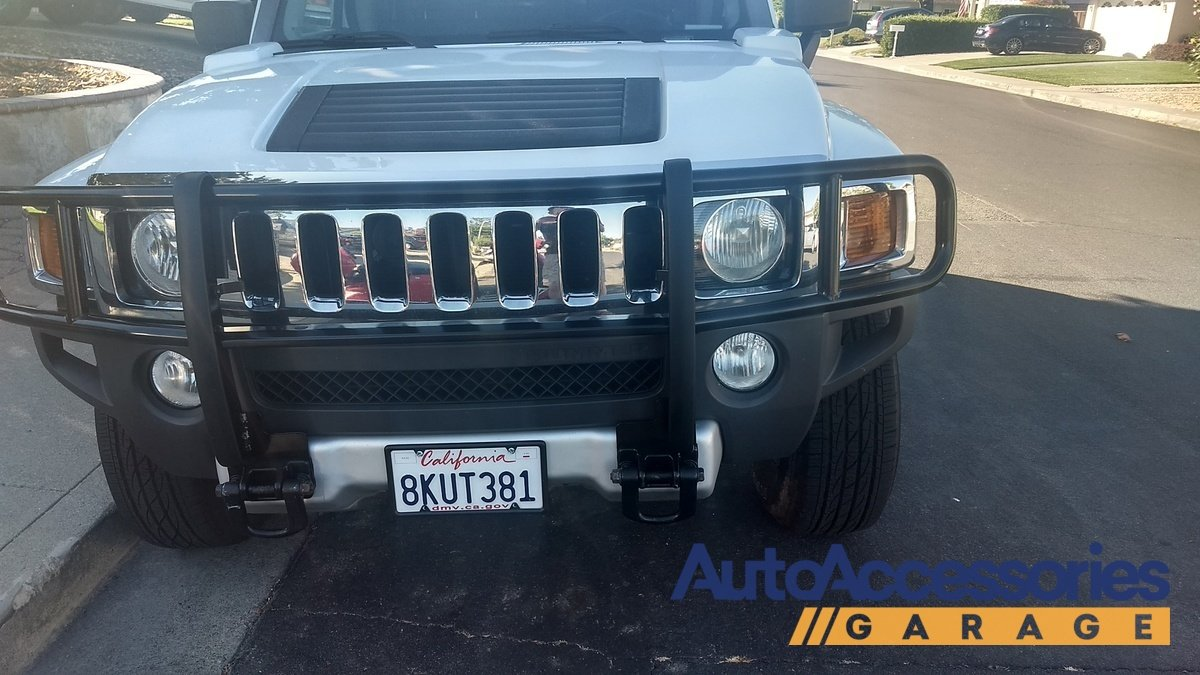 Trident Outlaw Grille Guard TRI11 | hummer h3 grill guard