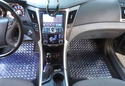 Intro-Tech Diamond Plate Floor Mats