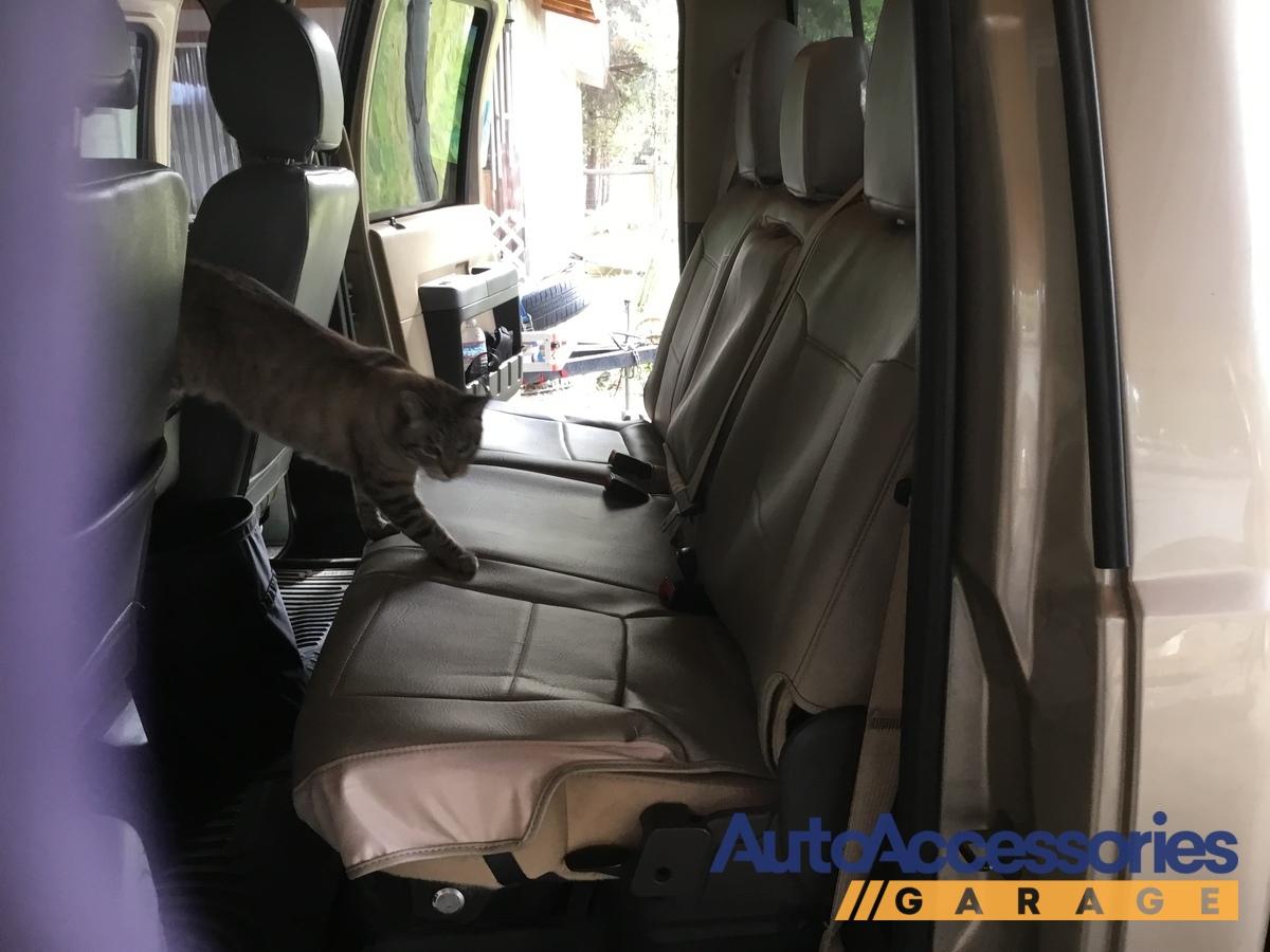 Rhinohide PVC Heavy Duty Synthetic Leather Custom Seat Covers for Honda Pilot
