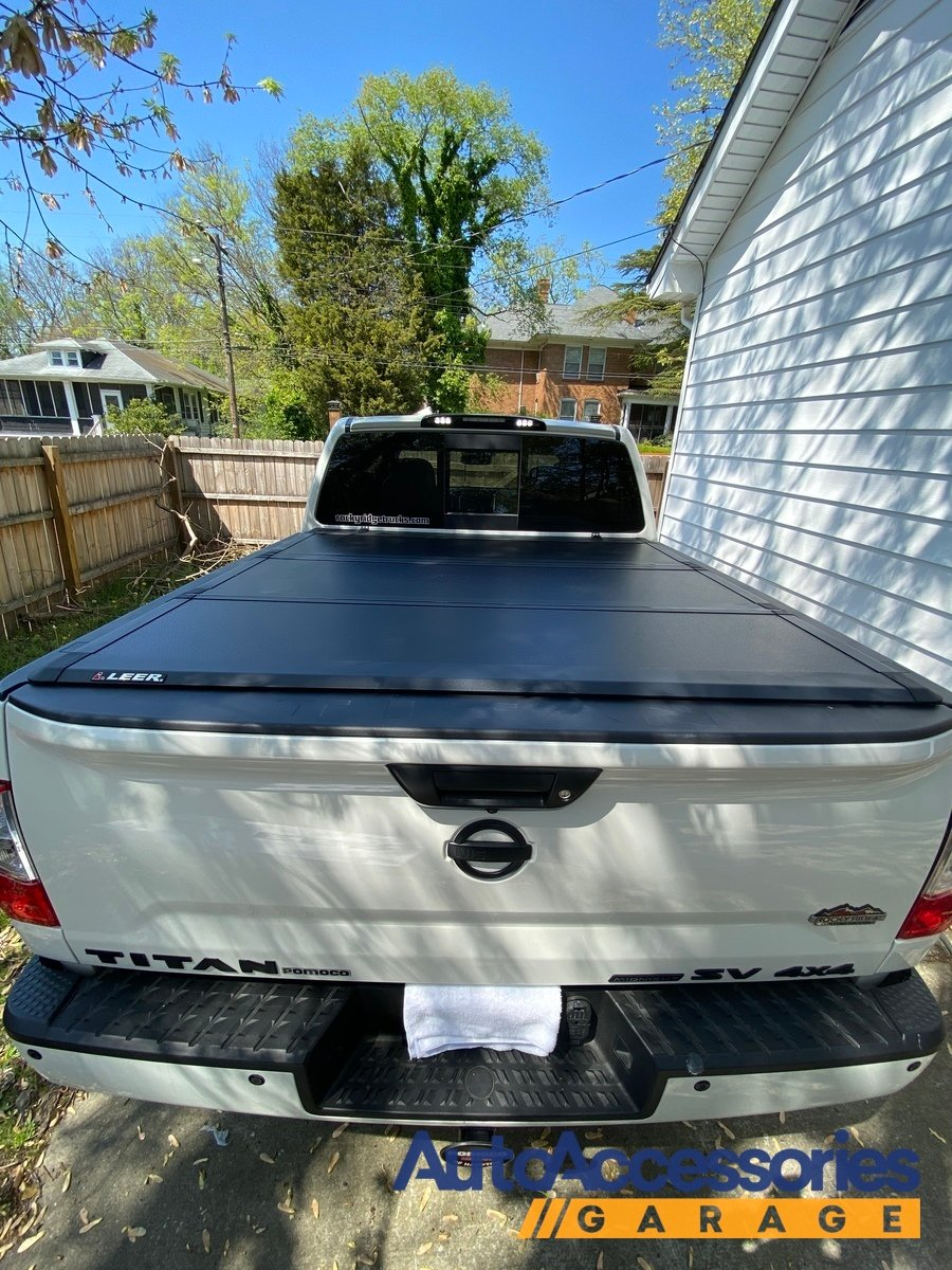 Leer Hf350m Hard Folding Tonneau Cover Read Reviews Free Shipping