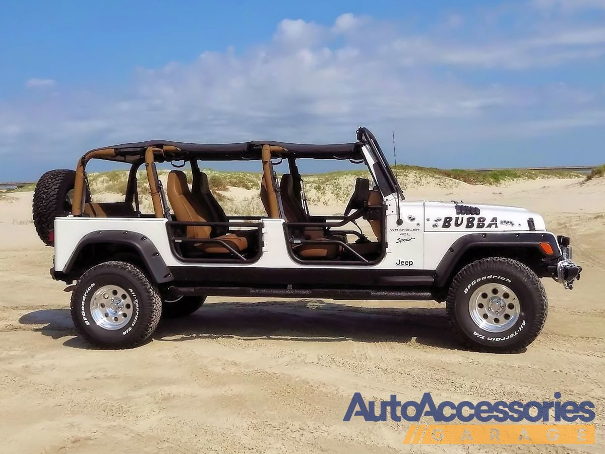 Rugged ridge rear fold and tumble seat free shipping for Interior jeep accessories