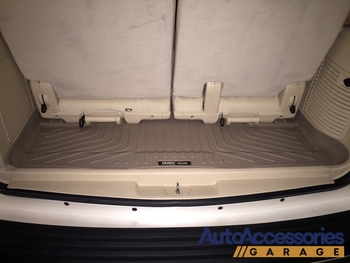 Without The Appearance Of Liner: 2007-2014 Chevy Tahoe Husky Liners WeatherBeater Cargo