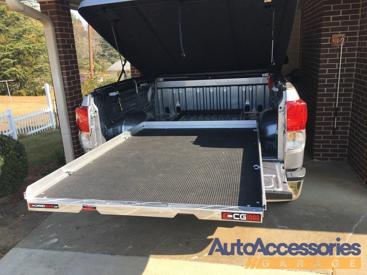 2015 2018 chevy colorado cargoglide truck bed cargo slide for Slide out motor manufacturers