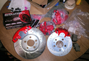 Power Stop Performance Brake Kit with Calipers