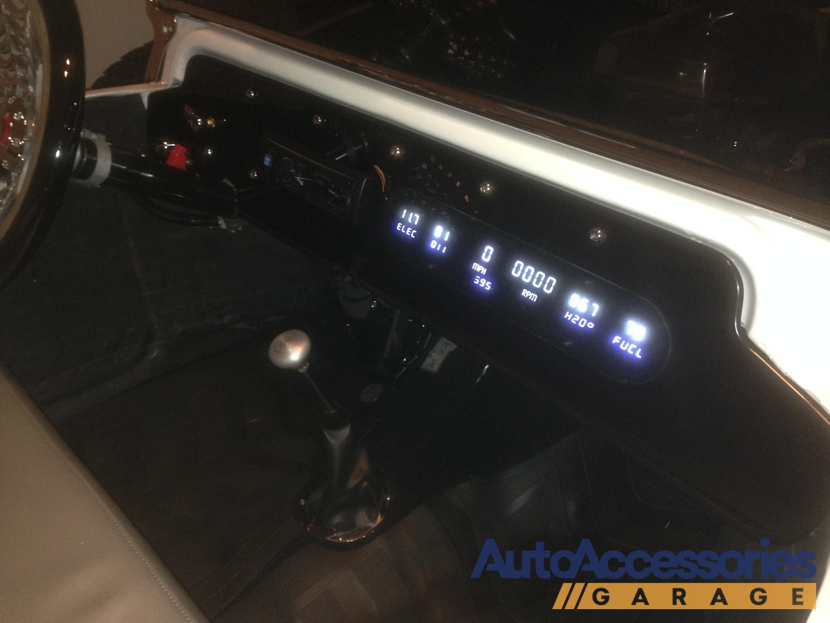 Intellitronix LED Digital Gauge Panel