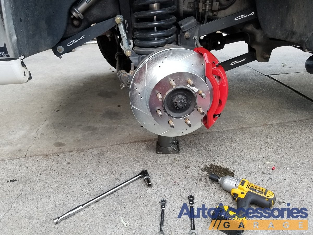 Power Stop Rotors >> Power Stop Z36 Truck & Tow Brake Kit with Calipers