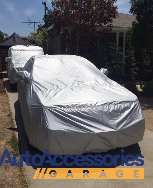 ReflecTect Fabric, Silver Covercraft Custom Fit Car Cover for Ford and Mazda