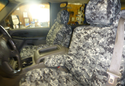CalTrend Digital Camouflage Seat Covers