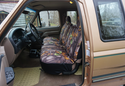 Saddleman Camo Seat Covers