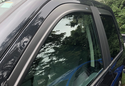 AVS Matte Black Seamless Window Deflectors