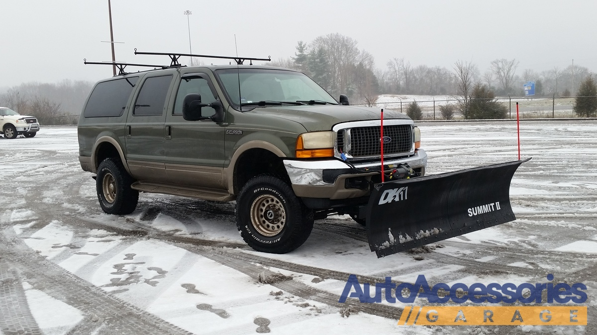 Ford Ranger Plowing Snow >> DK2 Snow Plows, Free Shipping on DK2 Truck & SUV Snowplows