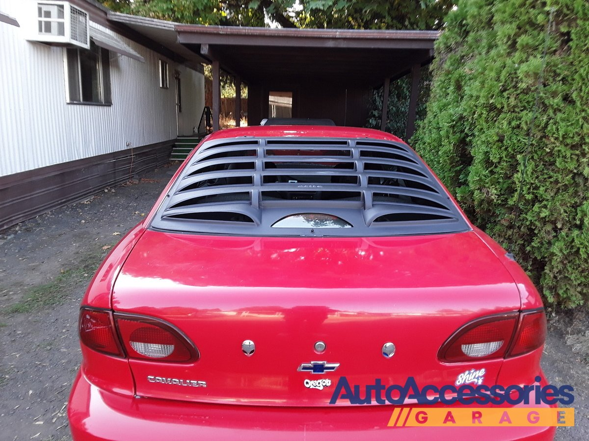 Astra Hammond 8048 ABS Classic Style Design Truck Rear Window Louver for Ford Ranger