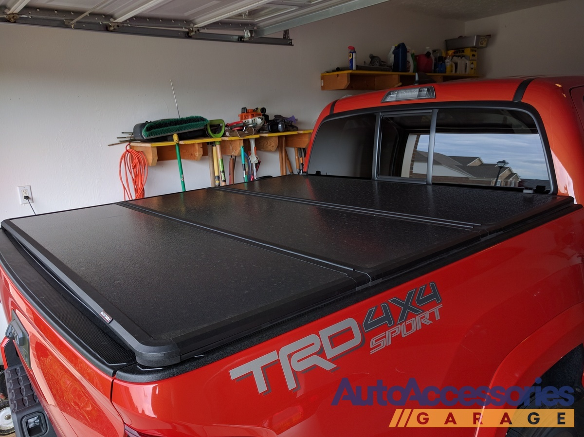 2016-2019 Toyota Tacoma Rugged Hard Folding Tonneau Cover ...
