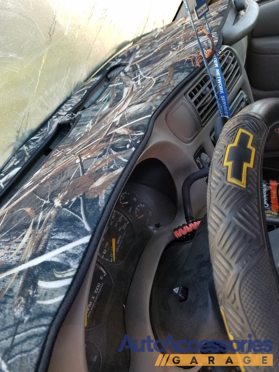 Nissan 46 Service >> Coverking RealTree Camo Dashboard Velour Cover - Free Shipping