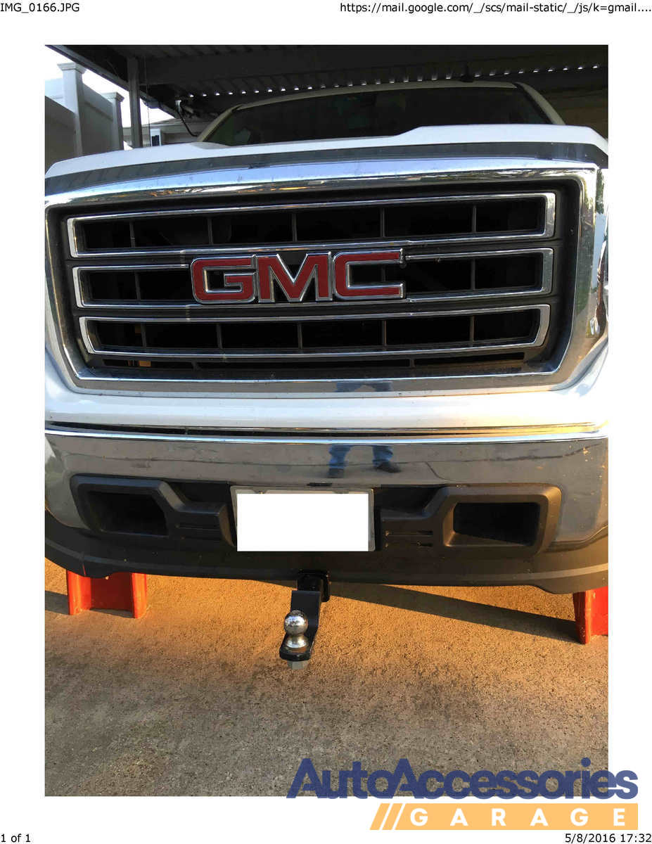 1993-2011 Ford Ranger Curt Front Mount Receiver Hitch ...