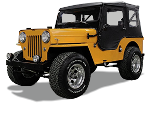 Jeep CJ-3B Accessories