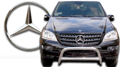 Mercedes ml320 accessories suv parts for Mercedes benz parts and accessories online