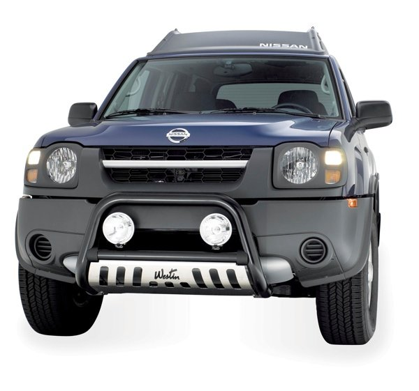 Westin 33 1435 2 5 In Ultimate Bull Bar For Xterra