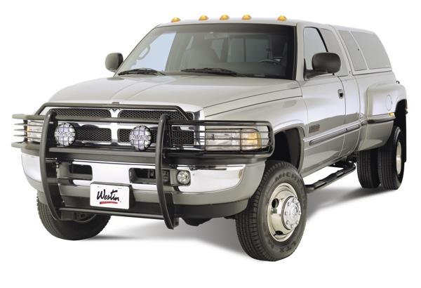 Dodge Ram 1500 Brush Guard >> 1994-2001 Dodge Ram 1500 Westin Sportsman 1Piece Grille ...