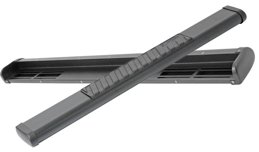 2014 2018 Chevy Silverado Dee Zee 6 Inch Oval Nerf Bars