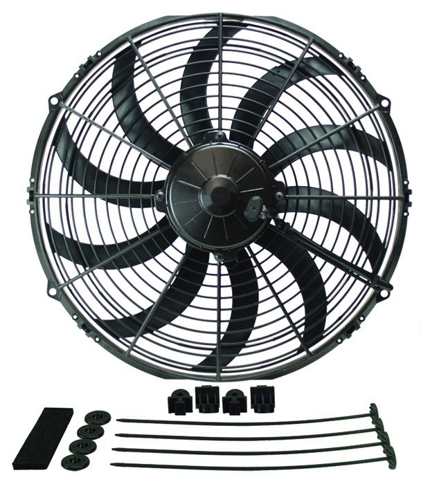 Derale 16114 Extreme Curved Blade Fan