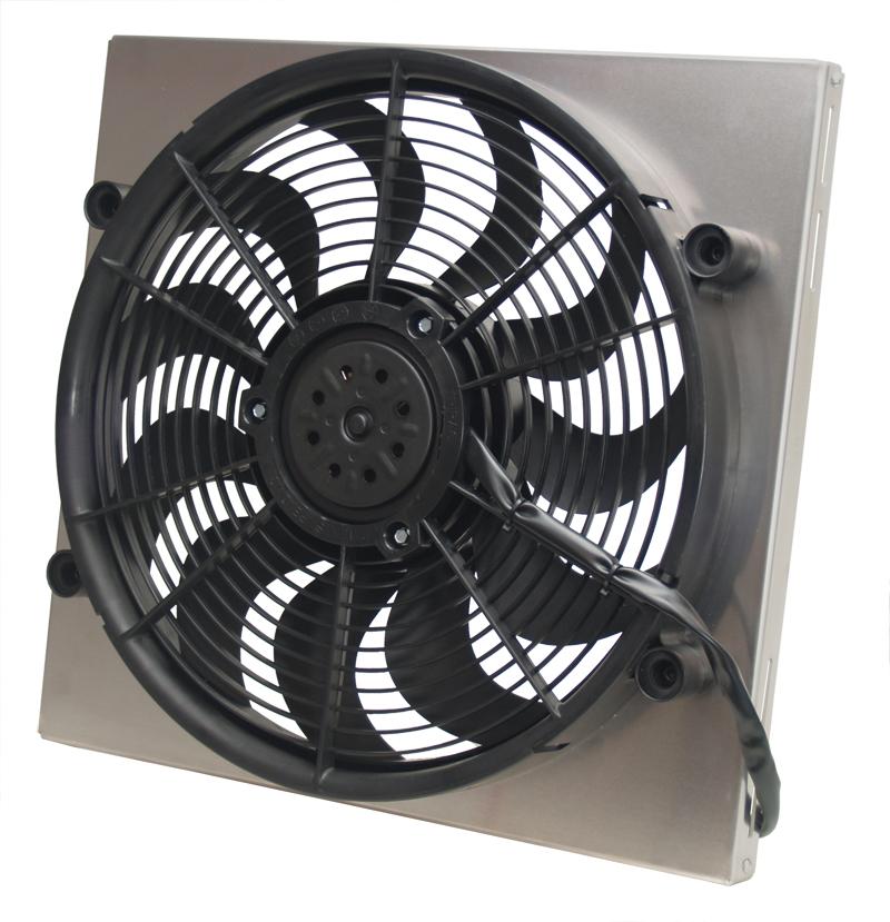 Derale 16819 Single High Output Rad Fan