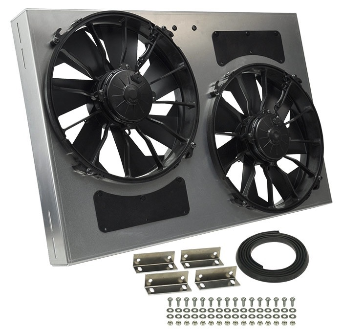 Derale 16837 Dual High Output Rad Fan