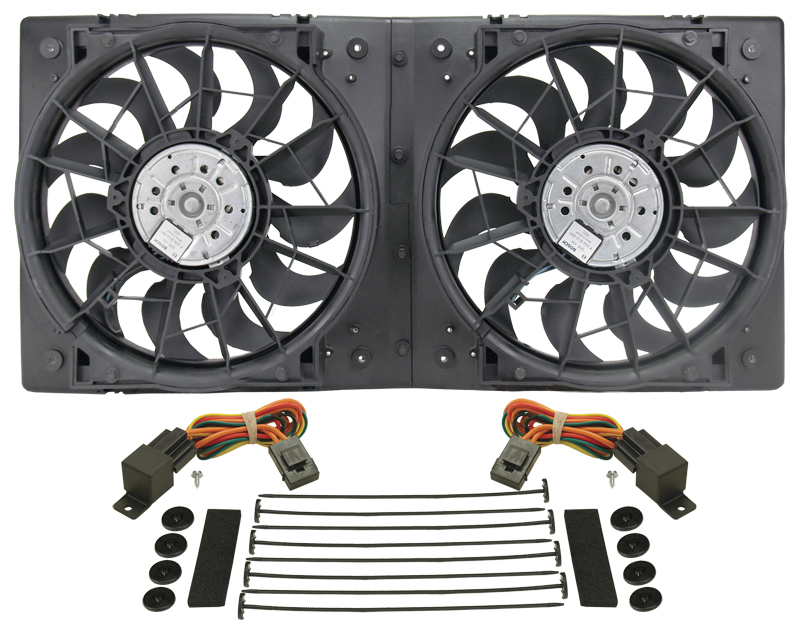 Dual High Output Rad Fan