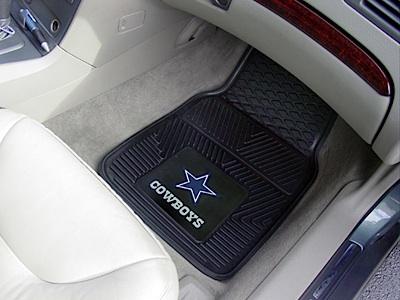 NFL Vinyl Front Rear Floor Mats