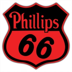 Phillips 66 Vintage Sign By Signpast Free Shipping