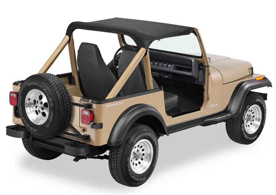 jeep cj7 bikini top