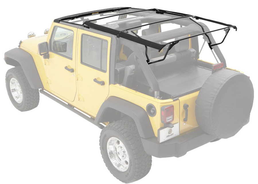 2007 2018 Jeep Wrangler Bestop Soft Top Hardware