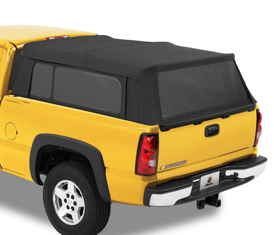 Chevrolet Camper Shell: 1999-2018 Chevy Silverado Bestop Supertop Truck Camper