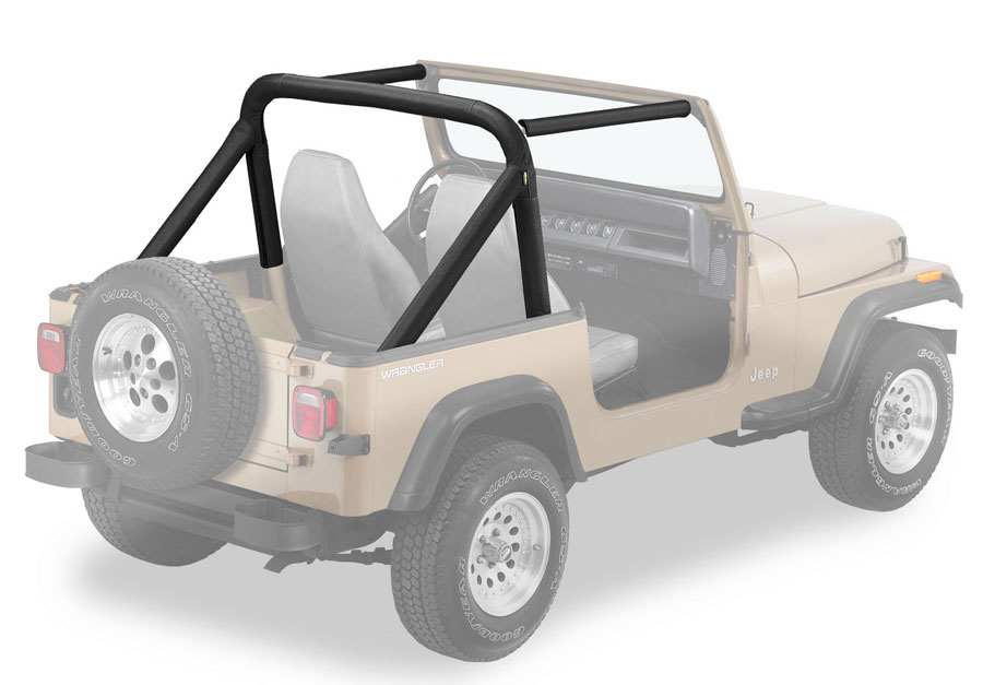 1986 1990 1992 1995 jeep wrangler bestop sport bar cover - Jeep cherokee exterior roll cage ...