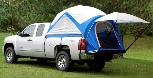 Truck Tent III & 1999-2017 Chevy Silverado Sportz Truck Tent III - Sportz 57011
