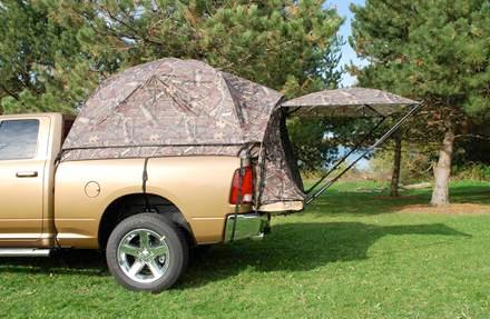 Camo Truck Tent & 1999-2018 Chevy Silverado Sportz Camo Truck Tent - Sportz 57891