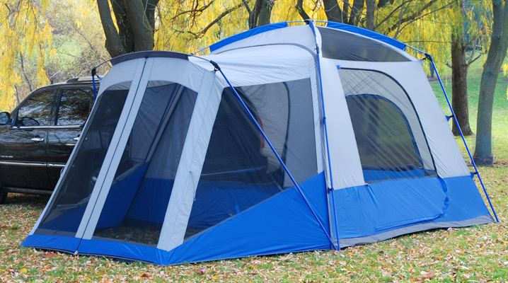 SUV u0026 Minivan Tent with Screen Room : tents with screen room - memphite.com