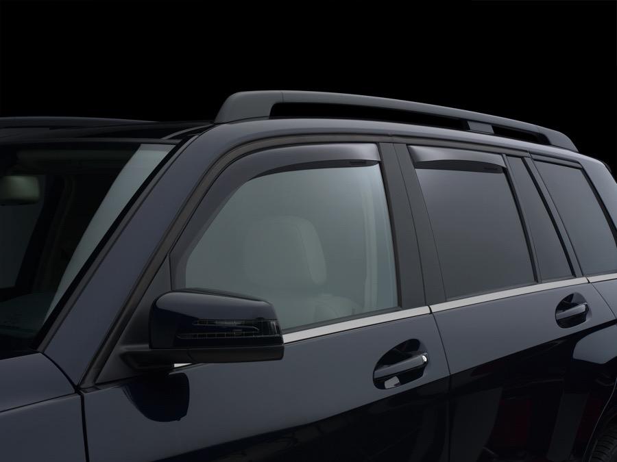 2010 2015 Mercedes Glk Class Weathertech Window Deflector