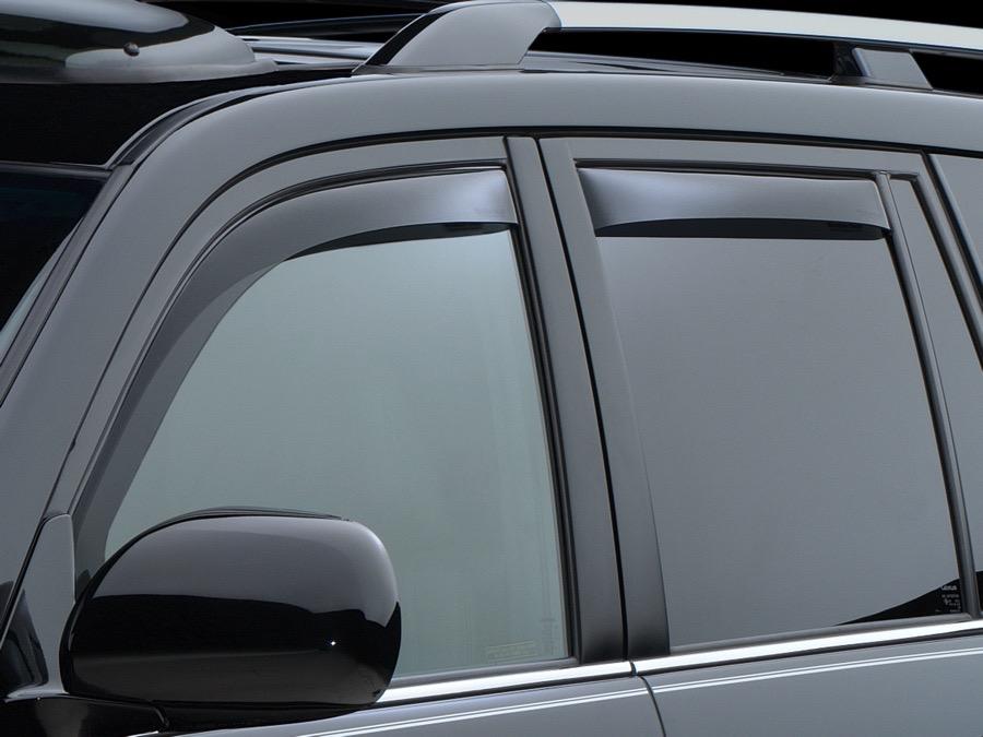 Weathertech custom fit front rear side window deflectors for 2003 acura tl window visor