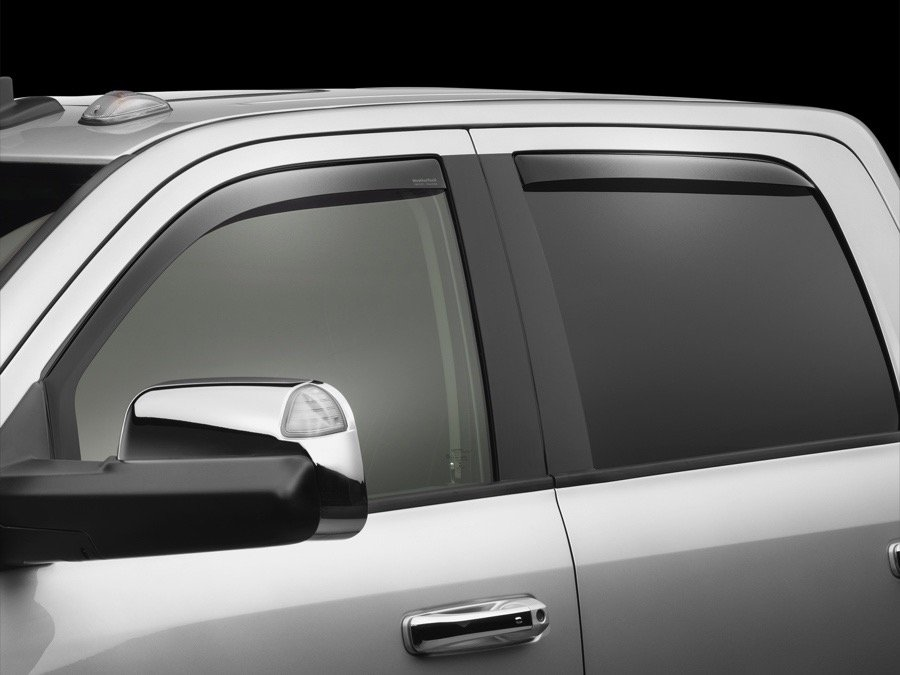 Ram 1500 Accessories >> 2009-2019 Dodge Ram 1500 WeatherTech Window Deflector - WeatherTech 82503