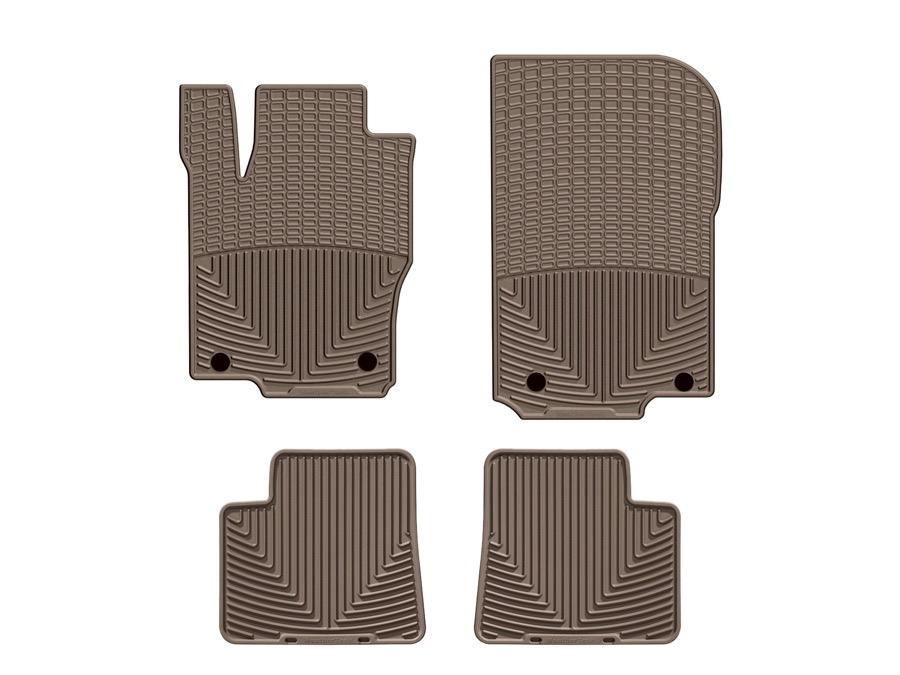 2012 2015 mercedes m class weathertech floor mats for Mercedes benz ml350 rubber floor mats